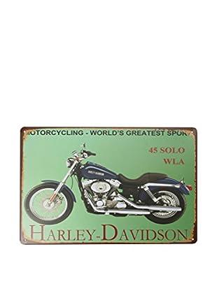 LO+DEMODA Wandbild Harleyroad