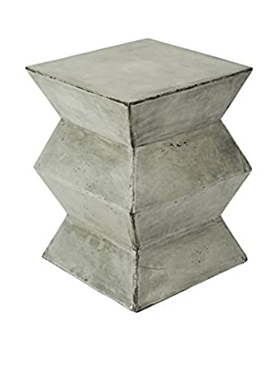 My Spirit Garden Eco-Concrete Fold Stool, Stone Grey