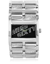 Miss Sixty Analog Silver Dial Women's Watch - SZ3004