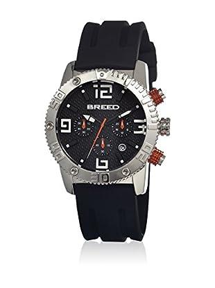 Breed Reloj con movimiento cuarzo japonés Brd1104 Negro 45  mm