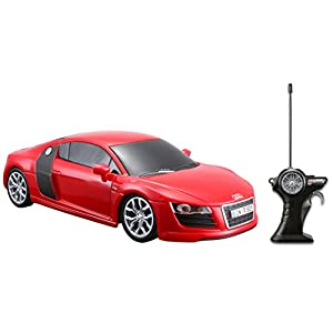 Maisto R/C 1:24 Scale Audi R8 V10 Radio Control Vehicle (Colors May Vary)