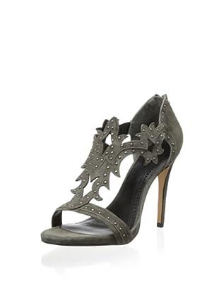 Pour La Victoire Women's Vassy Dress Sandal (Charcoal)