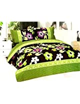 SAI ARPAN ATTRACTIVE DOUBLE BED SHEET WITH PILLOW COVERS 1420