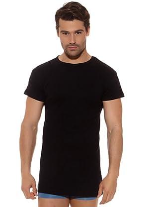 Ocean Camiseta M / C 100% Algodón (Negro)