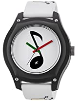 Fastrack Tees  Analog Multi-Color Dial  Unisex Watch - 9951PP11