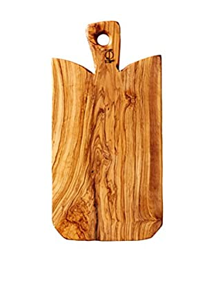 French Home Wedge Shape Cutting Board, Wood Grain
