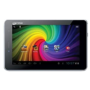 Micromax Funbook Talk P360 Tablet (WiFi, 3G via Dongle, Voice Calling), Black