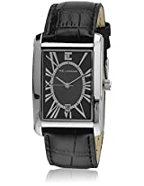 5115201 Black Analog Watch Ted Lapidus