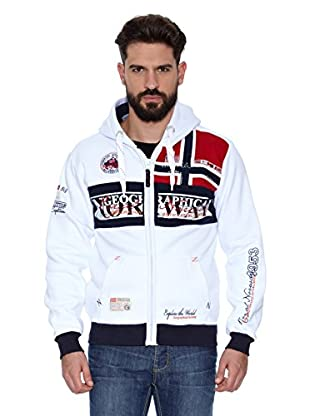 Geographical Norway Sudadera Flyer Men 100 (Blanco)