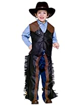 Forum Novelties Kids Dress-Up Cowboy Costume, One Color, Small