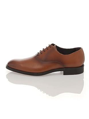 British Passport Zapatos Oxford (Cognac)