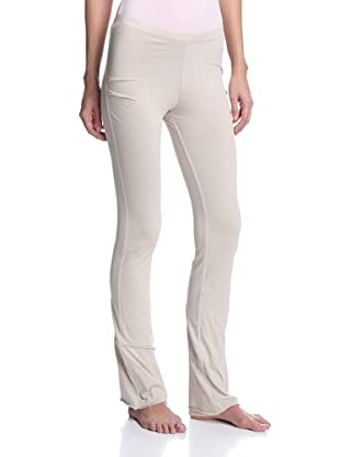 SKIN Women's Double Layer Drape Pant (Taupe)