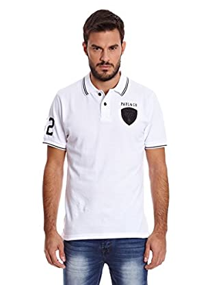 Paul Stragas Polo Marshall (Blanco)