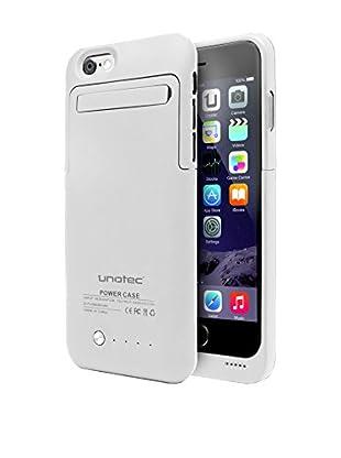 Unotec Funda Batería iPhone 6/6S Powercase Blanco