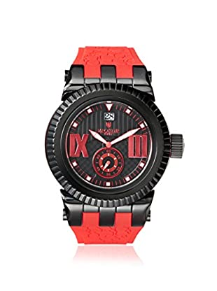 Lancaster Men's OLA0629BK/RS Murano Red/Black Stainless Steel Watch