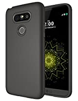 LG G5 Case , Diztronic Full Matte TPU Series - Slim-Fit Soft-Touch Thin & Flexible Phone Case for LG G5 - Full Matte Charcoal Gray