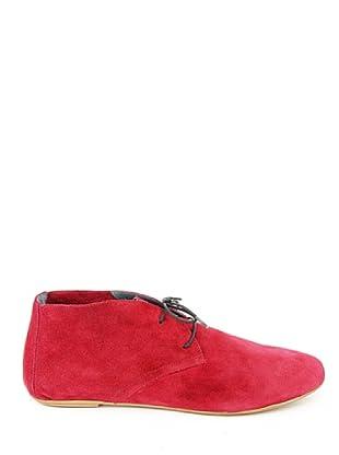 Eye Shoes Botines Cordones (Rojo)