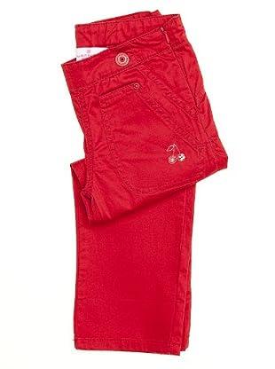 Naf Naf Chevignon Pantalón Cerezas (Rojo)