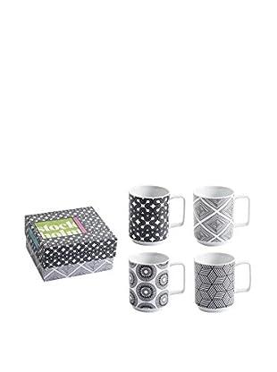 Rosanna Set of 4 Stockholm Mugs