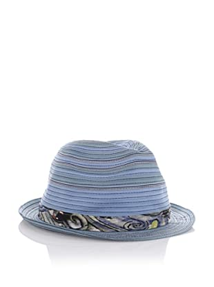 Robert Graham Men's Wyclef Fedora (Blue)