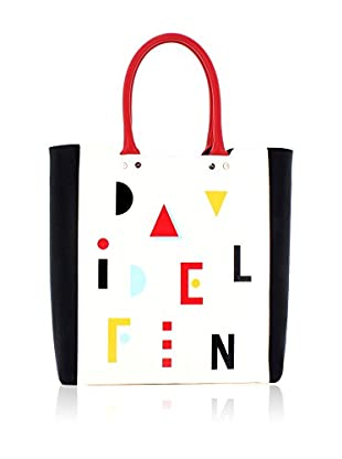 davidelfin Bolso shopping Name Game Blanco