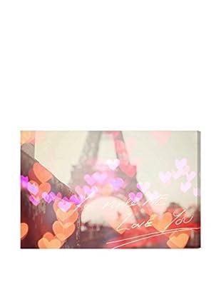 Oliver Gal Artist Co. Paris Heart, Multi, 20