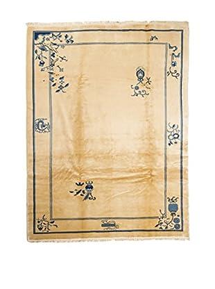 QURAMA Teppich Pekino beige/blau