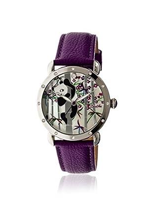 Bertha Women's BR4507 Lilly Purple/Multicolor Leather Watch