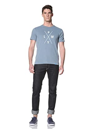 Two Thirds Men's Icon Pwyl Tee (Cameo Blue)