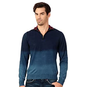 Louis Philippe Casual Solid Sweater