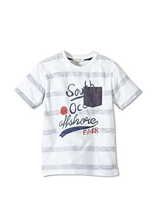 LTB Jeans T-Shirt West (weiß / grau)