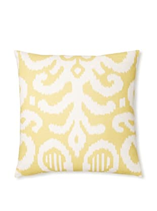 The Pillow Collection Teorra Ikat Decorative Pillow (Citrus)