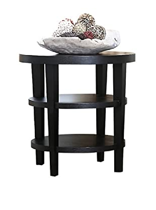 Abbyson Living Brittany Oak Finish End Table