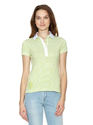 Tommy Hilfiger Polo Bengal (Verde / Blanco)
