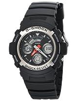 Casio G-Shock Analog-Digital Black Dial Men's Watch - AW-590-1ADR (G219)