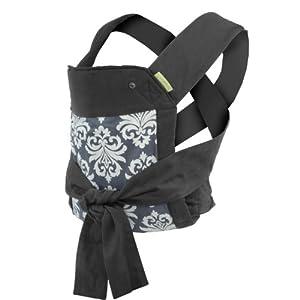 Infantino Sash Mei Tai Carrier, Black/Gray