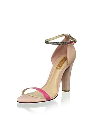 Schutz Women's Ankle Strap Sandal (Pinkberry)