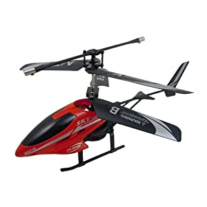 Alloy R/C Remote Control Helicopter 2 Channel (Colour May Vary)