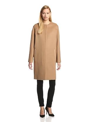 DEREK LAM Women's Dropped-Shoulder Coat (Camel)