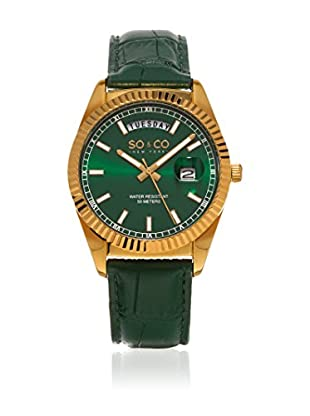 SO & CO New York Reloj de cuarzo  Verde 38 mm