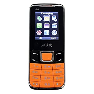 A& K Mobile Phone , Model-A 6 (orange Black)