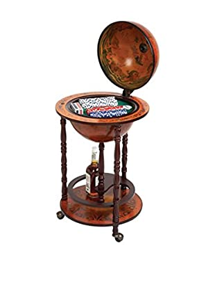 The Voyager's Globe Poker Set