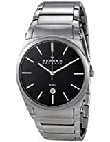 Skagen Men's 859LSXB Denmark Black Dial Watch