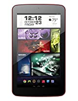 """Visual Land Prestige PRO 7DS-WC - 7"""" Dual Core 8GB Android Tablet with Wallet Case, KitKat4.4, Google Play (Red)"""