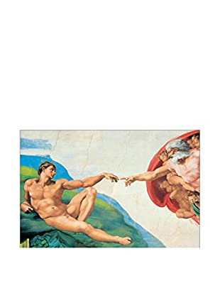 ARTOPWEB Wandbild Michelangelo The Creation Of Adam 115x175 cm