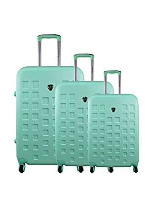 zifel Set de 3 trolleys rígidos 004C