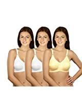 Selfcare Set Of 3 New Growing Women's Full Coverage Bra