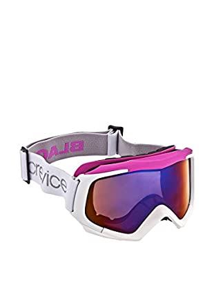 Black Crevice Skibrille weiß/pink