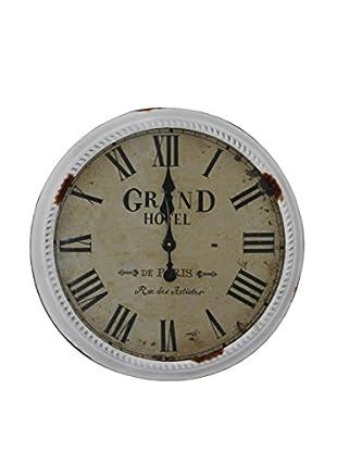 Contemporary Living Reloj De Pared Grand Hotel Blanco