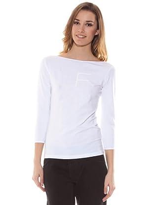 Gianfranco Ferré Camiseta Con Logo (Blanco)